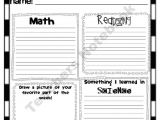 5th Grade Newsletter Template Fifth Grade Newsletter Product From Miteacher Girl Store
