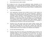 6 Month Employment Contract Template Contract Of Employment Probationary Employee