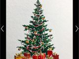 6 X 8 Christmas Photo Cards Pin by Shann On Watercolor Cards Christmas Tree Painting