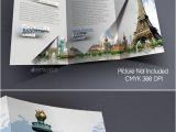8.5×11 Tri Fold Brochure Template tourism Service Trifold Brochure Template Tri Fold