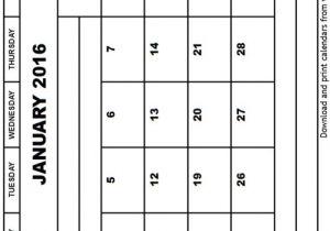 8×10 Calendar Template 8 10 Printable January Calandar Search Results