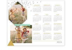 8×10 Calendar Template Instant Download 8×10 Calendar Template Updated 2017 E1177