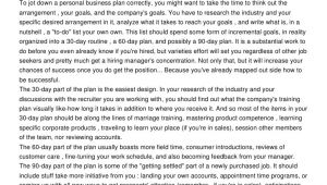 90 Day Business Plan Template for Interview Use A 30 60 90 Day Strategic Business Plan for Job