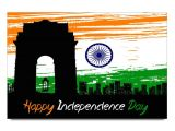 A Beautiful Card On Independence Day Rock Mantra Amy India Gate Independence Day Poster Buy Rock