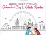 A Beautiful Card On Independence Day Vrp Telematics 2358 Store India Wishes Everyone A Very