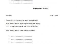 A Blank Resume 46 Blank Resume Templates Doc Pdf Free Premium
