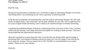 A Cover Letter is An Advertisement Eye Catching Cover Letter Resume Badak
