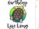 A Cute Happy Birthday Card Happy Birthday Greeting Card Stock Illustration