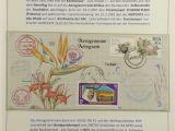 A National Flower or Plant Cue Card Auktionshaus Felzmann Philatelie Munzen Medaillen Und