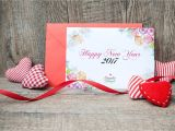 A New Year Greeting Card Free New Year Greeting Card Mock Up Psd Template Design