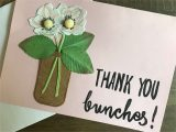 A Picture Of A Thank You Card Simple Thank You Card Diy Everyday Party Magazine