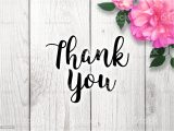 A Picture Of A Thank You Card Thank You Card Stock Download Image now istock