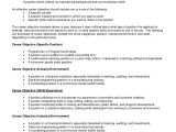 A Professional Resume Objective Sample Resume Objective 8 Examples In Pdf