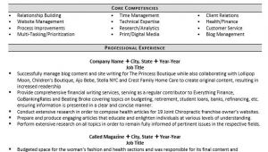A Professional Resume Writer Professional Writer and Editor Resume Example Zipjob