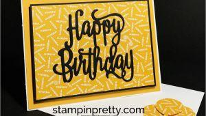 A Simple Happy Birthday Card Simple Happy Birthday Card Simple Birthday Cards Birthday
