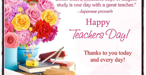 A Simple Teachers Day Card for Our Teachers In Heaven Happy Teacher Appreciation Day
