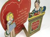 A Valentine Card for A Teacher 5 Teacher Valentines 1910 Vintage Valentine Cards