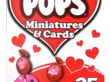 A Valentine Card for A Teacher Valentine Mini tootsie Pops with Card Stands 25 Piece Box