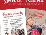 A Year In Review Christmas Card Christmas Card Year In Review Ideas Invitationcard
