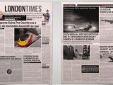 A3 Newsletter Template Newspaper Template for Indesign Business Plan Template