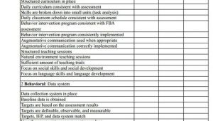 Aba Program Template Aba Program Evaluation form by Mark L Sundberg Ph D