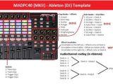 Ableton Dj Template Apc40 Ableton forum View topic Apc40 Mkii Template Madpc40