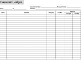 Accounting Ledgers Templates Excel Accounting Templates General Ledger Spreadsheet