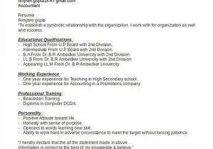 Accounting Student Resume No Experience Awesome Accounting Student Resume with No Experience