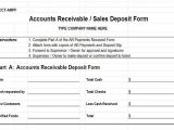 Accounts Receivable forms Templates Accounts Receivable Controls Vitalics