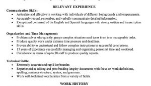 Accounts Receivable Specialist Resume Sample Example Of Accounts Receivable Specialist Resume Http