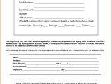 Ach forms Templates 8 Ach Authorization form Template Authorization Letter