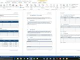 Acquisition Proposal Template Acquisition Plan Template Ms Word Excel