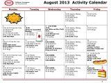 Activity Calendar Template for Seniors 10 Best Images Of Sample Activity Calendars for Seniors
