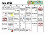 Activity Calendar Template for Seniors Activity Calendar Template for Seniors