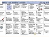 Activity Calendar Template for Seniors Search Results for January 2015 Calendar Microsoft Word