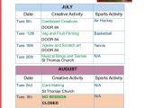 Activity Programme Template Activity Plan Door84