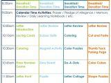Activity Programme Template Nursery School Lesson Plans thenurseries