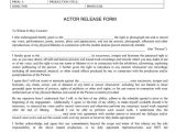 Actor Contract Template Student Film Production forms What Types Of forms and