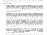 Actors Contract Template 49 Contract Agreement formats Word Pdf