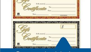 Adams Gift Certificate Template Download Gift Certificate Laser 3 Up 30 Per Pack
