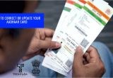 Adhar Card Print by Name How to Update or Correct Your Aadhaar Card Details Easy