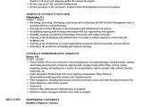 Administrative assistant Contract Template Contract assistant Resume Samples Velvet Jobs