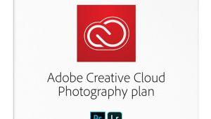Adobe Creative Cloud Prepaid Card Adobea Creative Clouda Photography Plan 1 Year Subscription for Pc Maca Disc Item 5845840