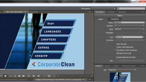 Adobe Encore Dvd Menu Templates Free Download Adobe Encore Basics 2 Creating Menus Youtube
