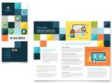 Advertisement Brochure Templates Free Advertising Company Tri Fold Brochure Template Design