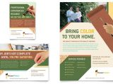 Advertisement Brochure Templates Free Painter Painting Contractor Flyer Ad Template Word
