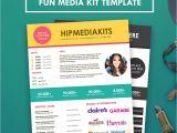 Advertising Media Kit Template Fun Media Kit Press Kit Template Hipmediakits