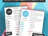 Advertising Media Kit Template Quick One Page Media Kit Template Press Kit Media Kit