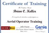 Aerial Lift Certification Card Template Uci sound Design Ironic No