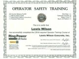 Aerial Lift Certification Card Template Unique Lift Certification Pattern Online Birth